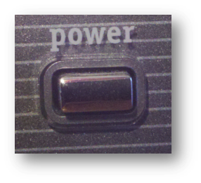 Power Button for Blog Post