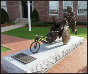 Dick and Rick Hoyt Statue