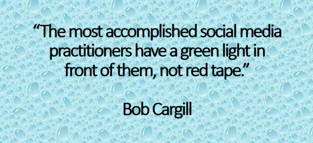 Red Tape and Social Media