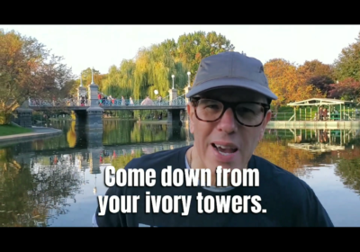 Come Down from Your Ivory Towers